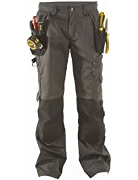 DeWalt Men's Low Rise Polycotton Holster Trouser - Black, 36W x 31L