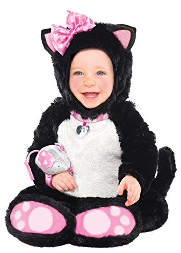 Costume de chat Kitty noir mignon bébé taille Infants (6-12 months)