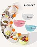 Best Fruit Bowl - Ketsaal (Pack of 3) Rice Pulses Fruits Vegetable Review