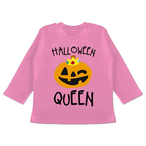 Anlässe Baby - Halloween Queen Kostüm - 6-12 Monate - Pink - BZ11 - Baby T-Shirt ()
