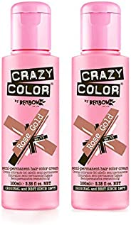 Crazy Color 100 ml No. 73 Rose Gold Pack Of 2