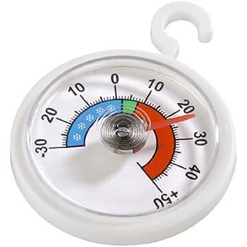 Xavax 00111309 Thermomètre rond pour réfrigérateur et congélateur
