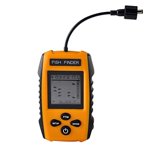 Fish finder Outdoor Simple Portable Wired Sonar Sensor Transducer und LCD Dispaly interessant Portable Sonar