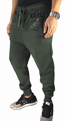 Slim Jogginghose Deep Crotch Sweatpant Statement Designer Blogger Homies Karl Y3 Jabos Wang Phillip McQueen Laurent (L KARL, OLIV)