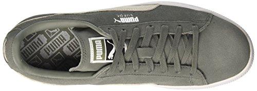 Puma Suede Classic +, Sneaker Unisex-Adulto, 44.5 EU Verde (Agave Green-Puma White 07)