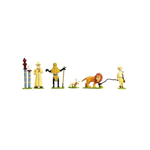 Moulinsart Figuras Mini Pixi Tintín en el Congo - 46244 (2009) 1