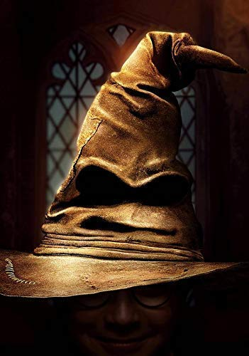 Desconocido Harry Potter & The Philosopher's Stone The Sombrero Seleccionador Foto Impresa Póster 004 (A5-A4-A3) - A3 5