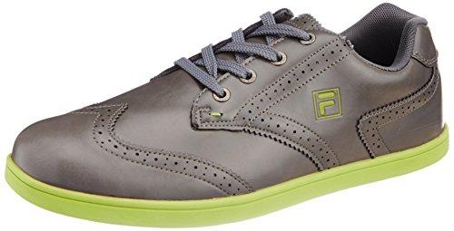 Fila Men's Fila Brouge Grey and Green  Sneakers -8 UK/India (42 EU) 41lKL4DhOCL