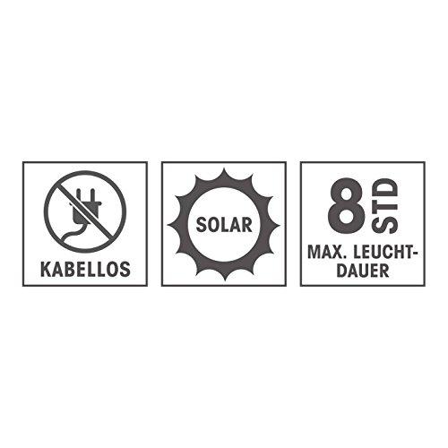 """Bodenleuchte /""""Solar/"""" 2er Set"""