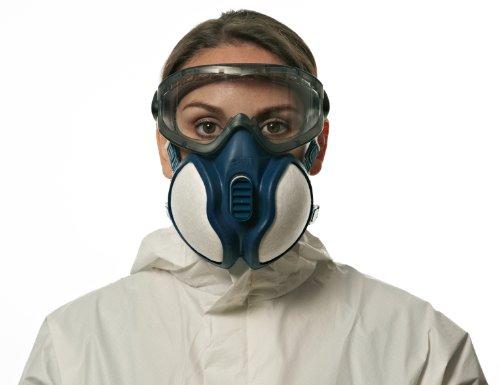 3m 4251c respiratore per gas e vapori a semimaschera bianco
