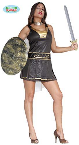 Sexy Gladiatorin Karneval Party Kostüm für Damen Antik Kämpferin Soldatin Gr. S - L, Größe:M