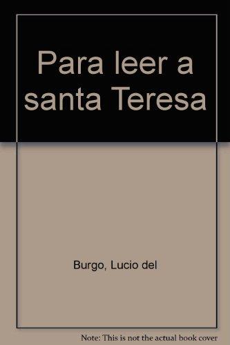 Para leer a santa Teresa