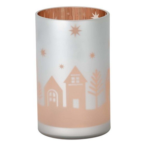Candle Yankee Flicker (Winter Village - Jar Holder - Flicker Glass)