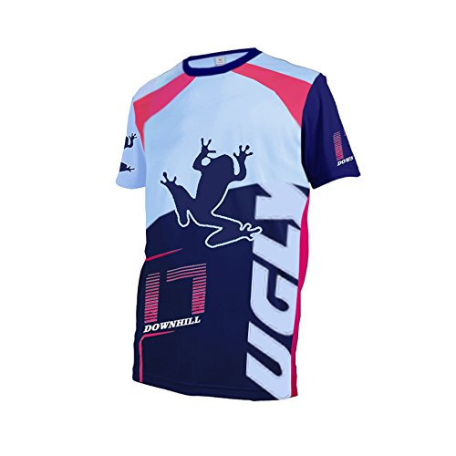 Uglyfrog Bike Wear Atmungsaktiv Trendy Herren Downhill/MTB Jersey Mountain Bike Shirt Fahrradtrikot Kurzarm Freeride BMX Top F06