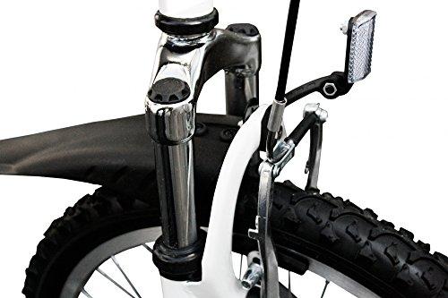 Stem Faltrad 20′ Zoll mit 6 Gang SHIMANO Gangschaltung und Aluminium Rahmen - 6