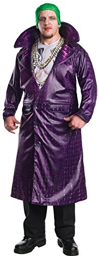 uxe Suicide Squad Joker Costume Plus Size (Erwachsene Plus Size Joker Kostüme)