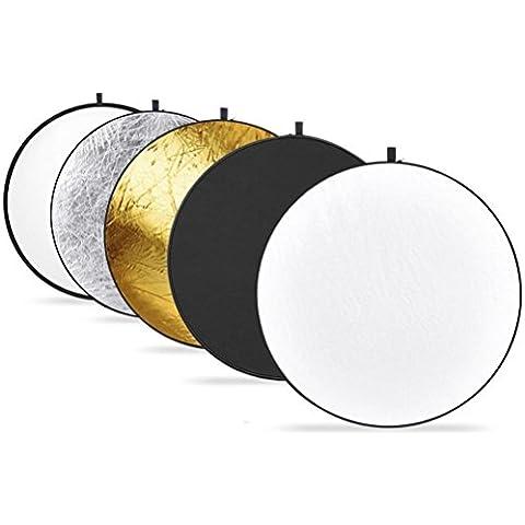 Hmeng Light Riflettore Multi disco pieghevole riflettente
