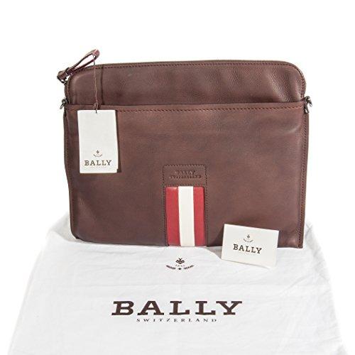 bally-herren-braun-strukturierte-leder-streifen-laptop-tasche