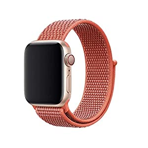 Armband für Apple Watch in Nektarine 38/40mm passend für Apple Watch 1 2 3 4 5