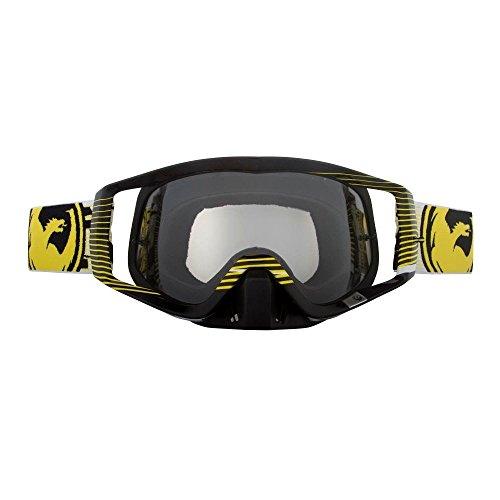 Dragon Vendetta Brillen-Nerve gelb Motocross FMX Enduro CLEAR LENS Snowboard