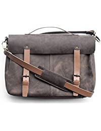 "Chalk Factory Genuine Leather Messenger Bag Custom Made For Laptops Of Screen Size Upto 15"" #MSNGR"