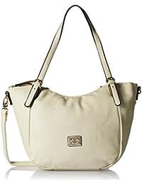 Gussaci Italy Women's Handbag (Beige) (GUS012)