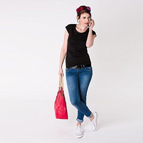 """Moshiki Shirt """"M"""" Organic Cotton -verschiedene Farben und Grössen 7 Black"""