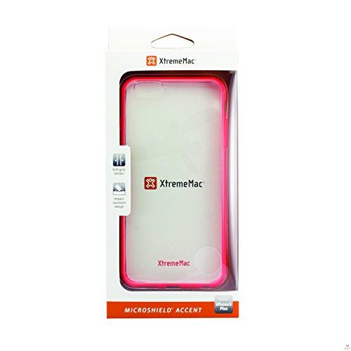 XtremeMac Microshield Accent Schutzhülle für Apple iPhone 6/6S schwarz Rot