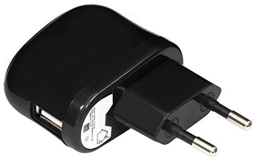 mumbi USB Ladegerät 2100mA einsetzbar als Netzteil / Ladekabel / Ladegerät - Ladeadapter schwarz (Apple-ipad2-ladegerät)