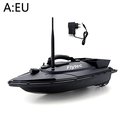 HELLOO HOME RC Boot Ferngesteuertes Boot High Speed Electric Racing Boot Fernsteuerungs-intelligentes Fischköder-Boot Digitale Automatische Frequenzmodulation Funkfernsteuerungs-Spielwaren-Boot -