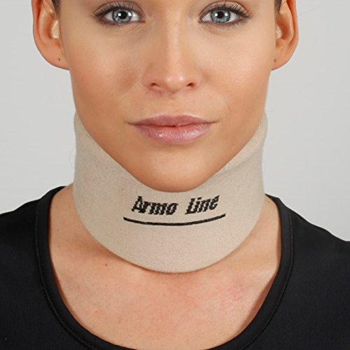 ArmoLine Halskrause - Schaum Nackenstütze - Plastazote Cervicalstütze - Nackenbandage (L) -
