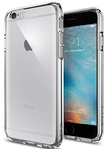 Spigen iPhone 6S Hülle, [Ultra Hybrid] Luftpolster-Technologie [Space Crystal] Durchsichtige Rückschale und TPU-Bumper Schutzhülle für iPhone 6/6S Case, iPhone 6/6S Cover - Space Crystal (SGP11599)