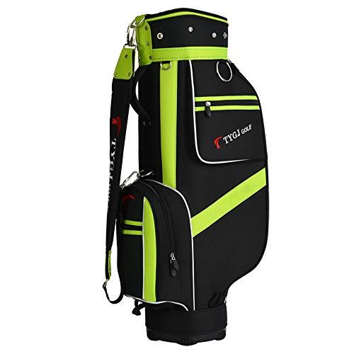Golf Stand Bag Männer Frauen wasserdichte Golf Carry Bag Leichte Golf Travel Case Geeignet für alle Größen Club Erwachsene Golf Zubehör Tasche Mit 5 Kolben Löcher (Golf Bag Travel Case)