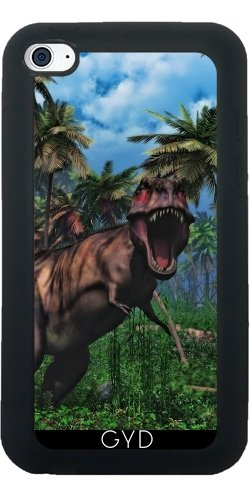 Coque pour Iphone SE - Tyrannosaurus Rex 3 by Gatterwe Silicone