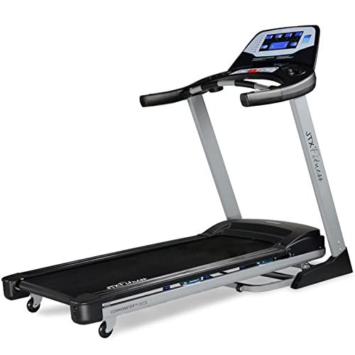 41lKWhnrDhL. SS500  - JTX Sprint-7: High Performance 20KPH Home Treadmill with Large Shock Absorbing Running Deck