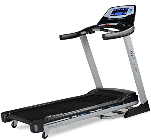 41lKWhnrDhL - JTX Sprint-7: High Performance 20KPH Home Treadmill with Large Shock Absorbing Running Deck
