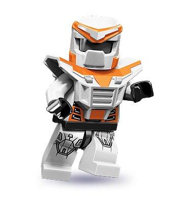 LEGO 71000 - Minifigur Battle Mech aus Sammelfiguren-Serie 9 (Lego Serie 9 Minifiguren)