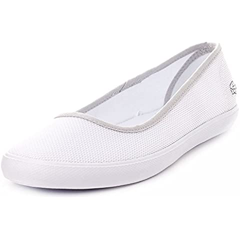 Lacoste Mujer Blanco Marthe Slip On Pumps