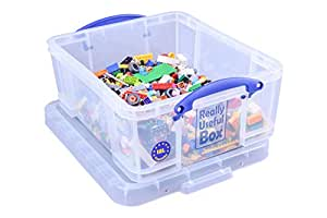 Really Useful Storage Box 18 Litre Clear