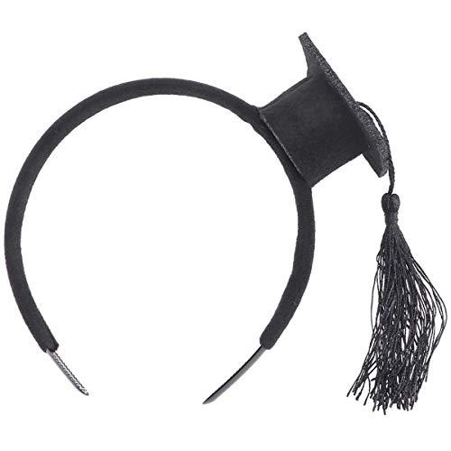 Stirnband, Bachelor Cap Stirnband, Abschluss Feier Lieferungen Abschluss Dekorationen ()