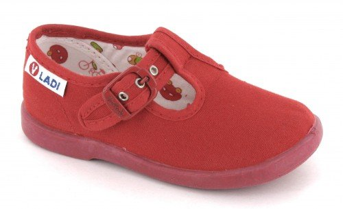 VUL-LADI, Pantofole bambini Rosso Rojo