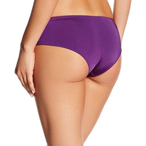 LingaDore Damen Taillenslip Daily Lace Brazilian Short Violett (Paars 07)