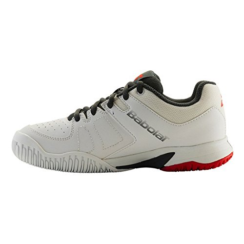 Babolat - Pulsion all court junior - Chaussures tennis Blanc/gris/rouge