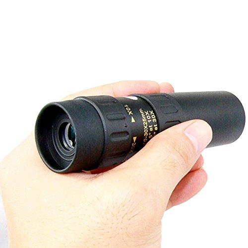 YINGNEW 10x-30x 25mm Zoom Cannocchiale Telescopio zoom ottica Scope per Bird Watching, campeggio, escursionismo