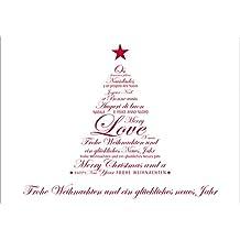 Suchergebnis auf f r weihnachts und neujahrskarten - Weihnachtskarte englisch ...