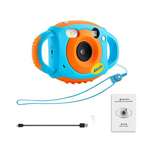 Starter Digital Kamera Für Kinder Mini 1,77 Zoll HD Farbdisplay Durable Anti Drop Build In Mikrofon Kinder Videokamera (Starter-digitalkamera)