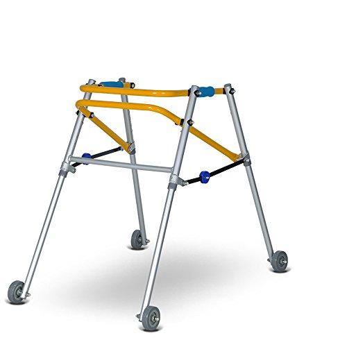 ZZHF Crutch Pulley Folding Walker Kinder Walk Walking Cane Ausbildung Rehabilitation Corner Krücken 2 Farben erhältlich Größe Optional Gehhilfe ( Farbe : A , größe : 42-52cm )