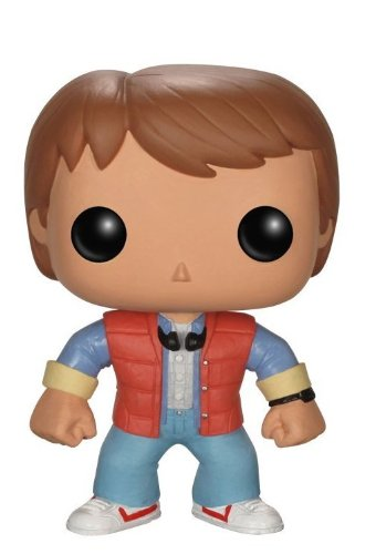 Pop! Movies - Marty McFly de Regreso al futuro, figura de 10...