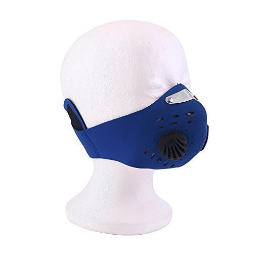Azul Máscara Shihan ciclismo Máscara Con Filtro