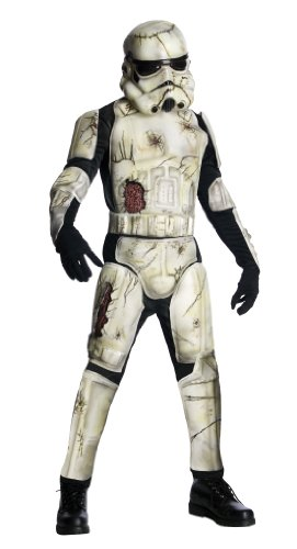 Rubies Costume Co R880695-STD Mens DLX Tod Trooper Kost-m (Stormtrooper Kostüme Halloween)